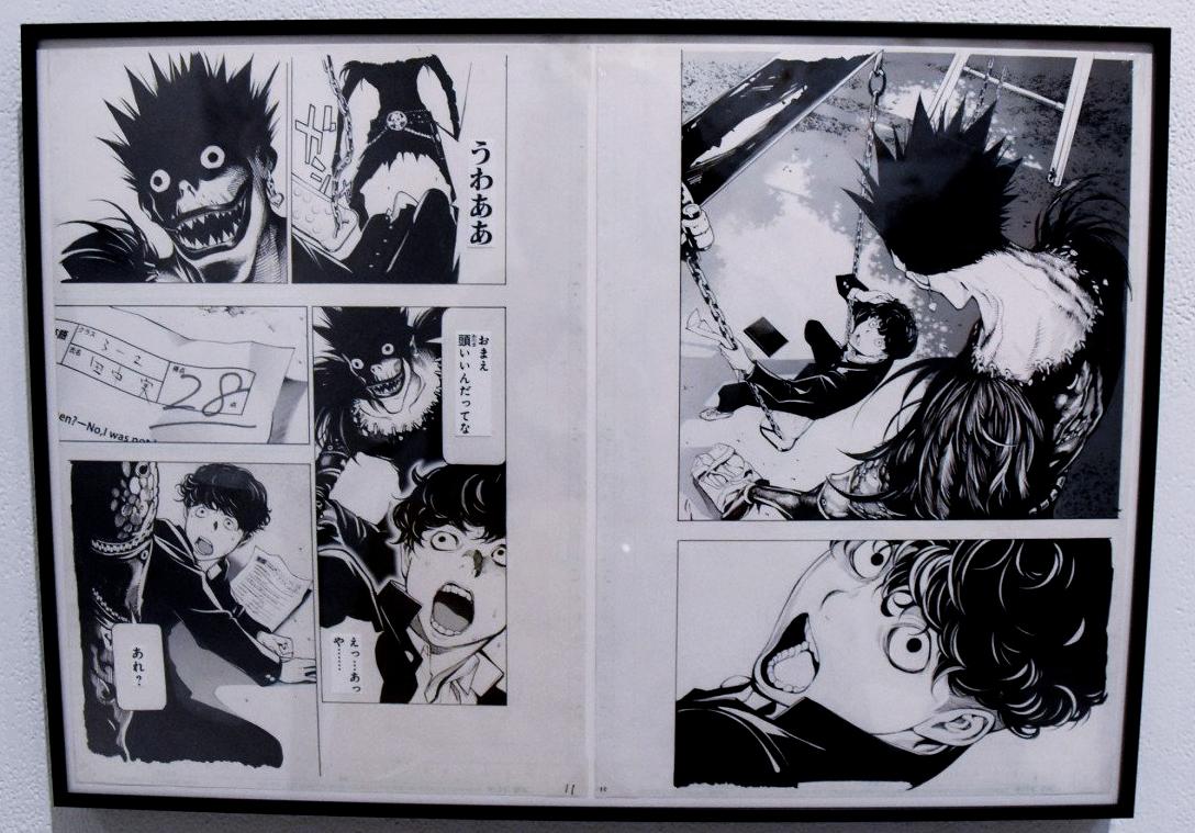 2 страници от предстоящия one-shot на мангата Death Note
